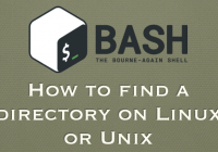 find directory on linux